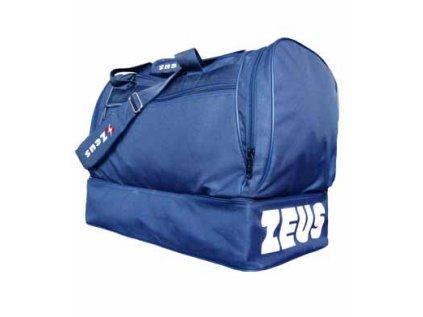 borsa medium blu logo nuovo