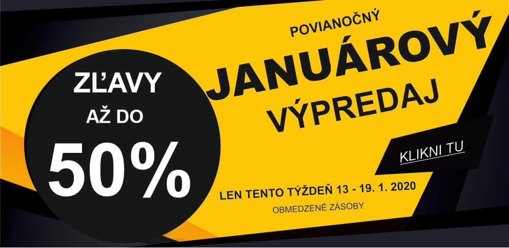 Januárový výpredaj