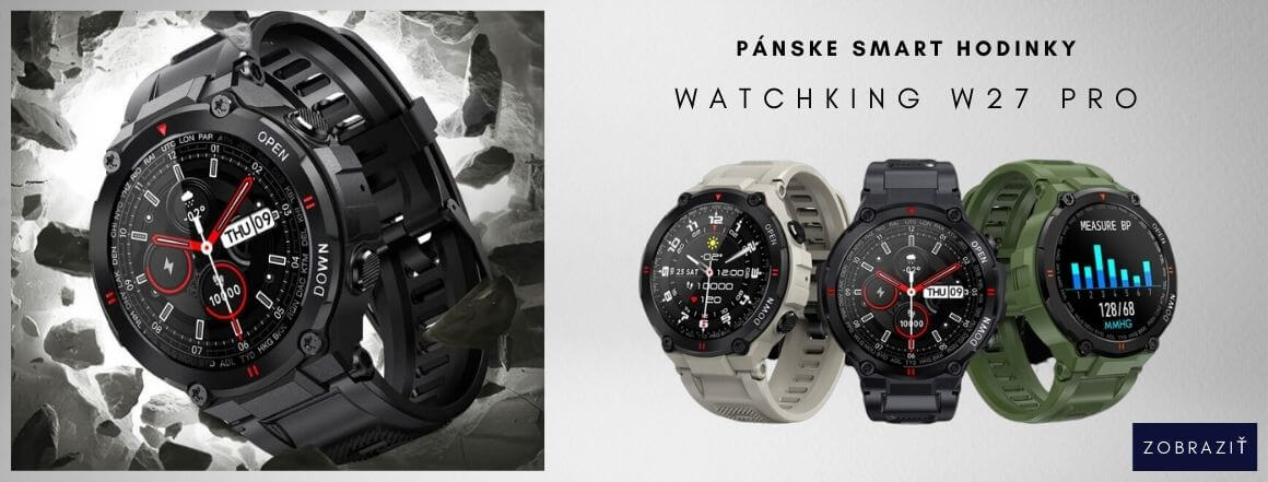 Smart Hodinky WatchKing W27 Pro