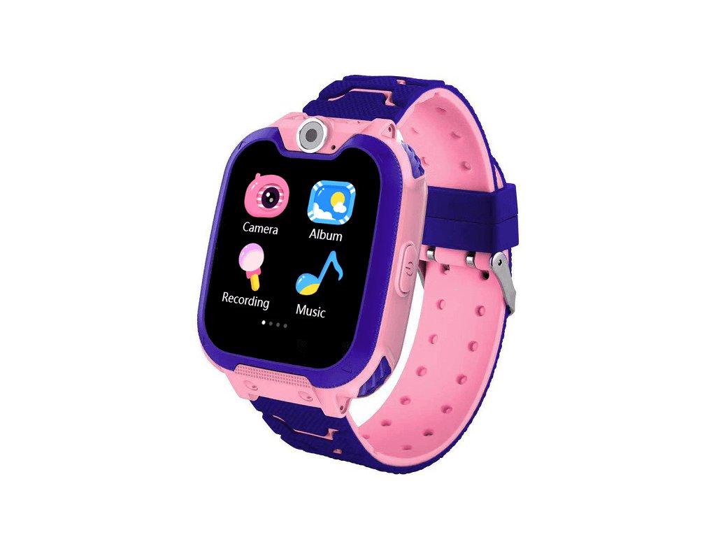 Detské smart hodinky G2 ružové dynamicshop.sk