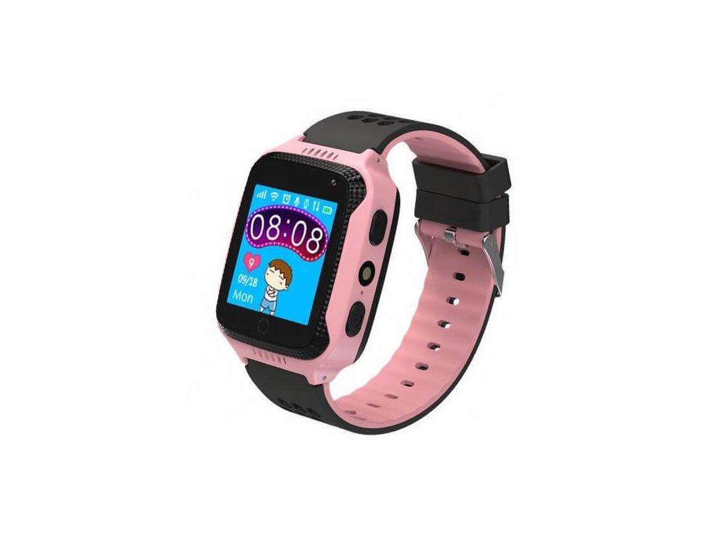 smart hodinky WG03 ruzove