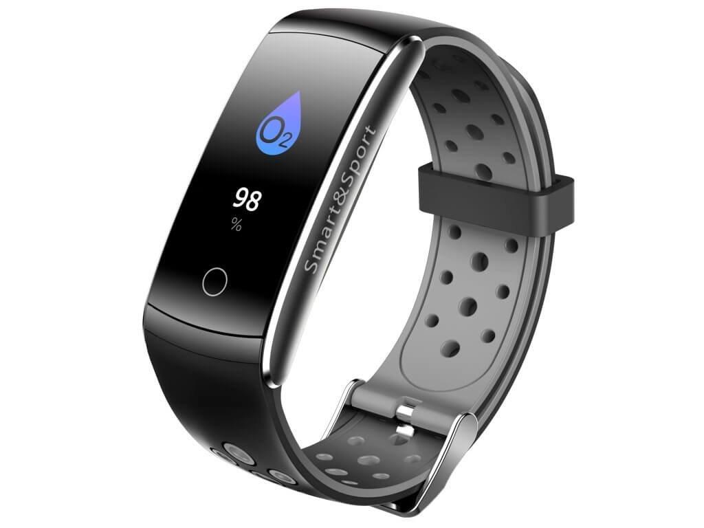 smart fitness náramok Q8 šedé