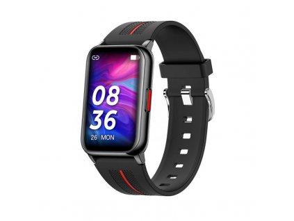 Smart Hodinky WatchKing W76 cierne DynamicShop (1)