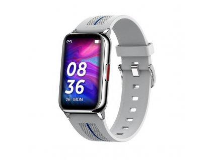 Smart Hodinky WatchKing W76 strieborne DynamicShop (7)