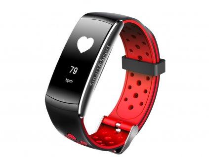smart fitness náramok Q8 cervené