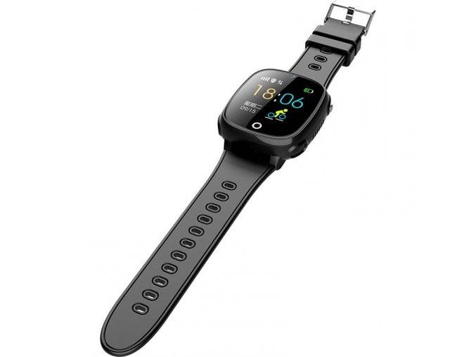 detske smart hodinky HW11 čierne