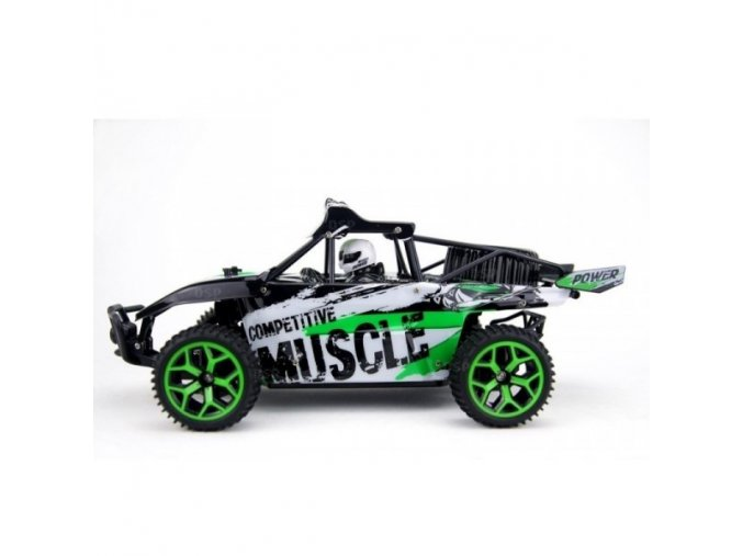 x knight muscle buggy 118 rtr 4wd zelena