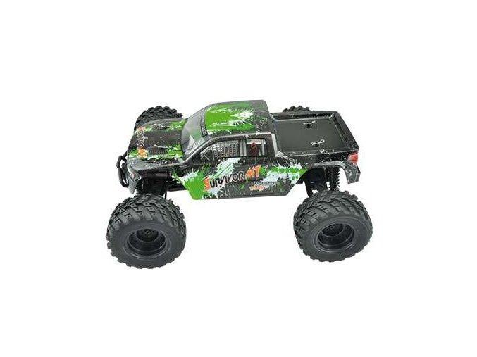 EVO 4M 4WD Monster truck 1:12 AMX Racing - zelený