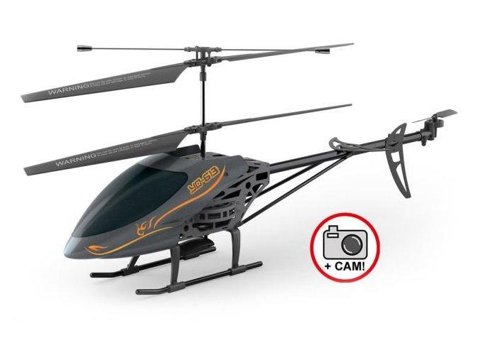 Cetacea Vrtuľník XXL s kamerou