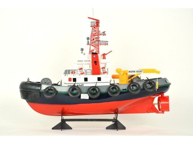 Hasičská loď s vodným delom RTR