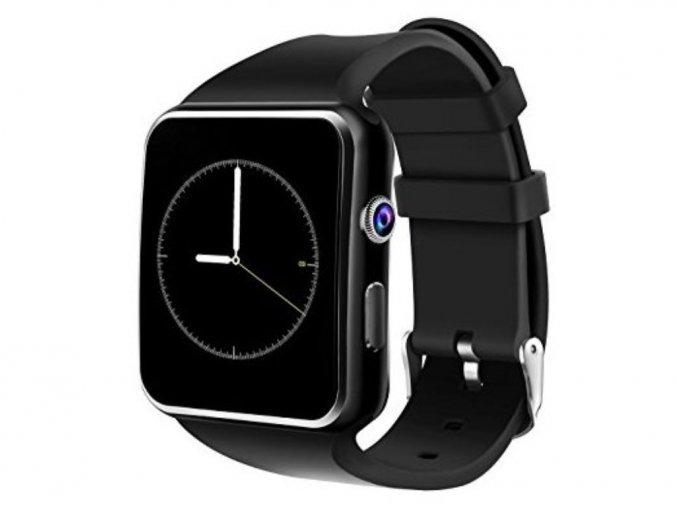 smart hodinky x6 čierne