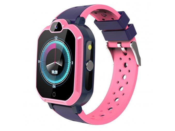Detske smart hodinky vx10Pro ružové