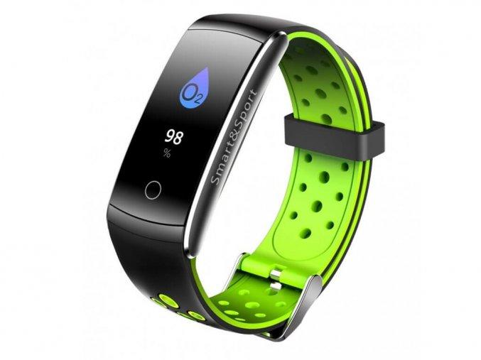 smart fitness náramok Q8 zelené