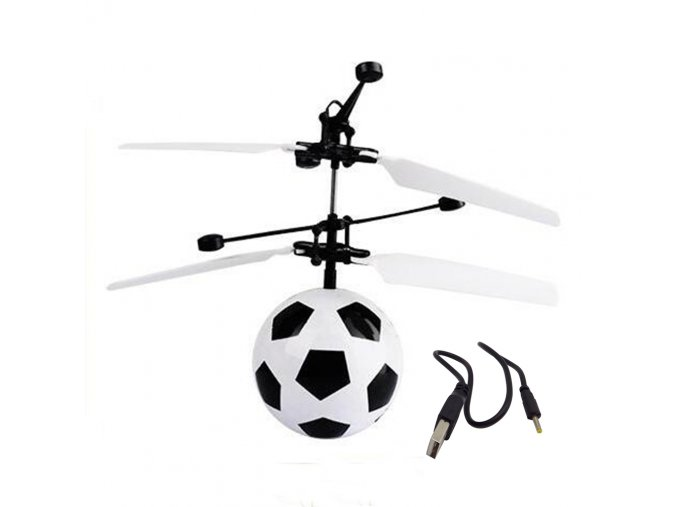 Mini football design infrared magic rc flying (1)