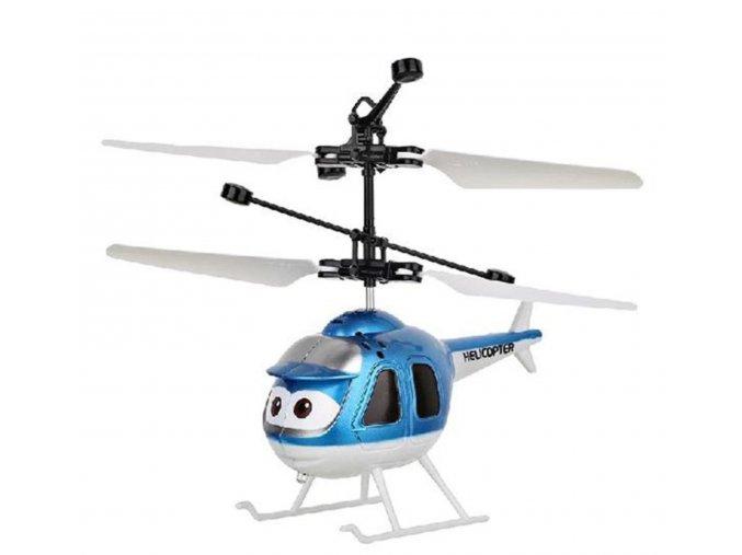 mini vrtulnik modry