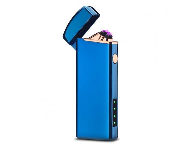 plazmovy zapalovac compact modry