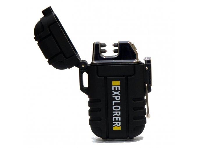 Fren Plazmový zapalovač USB Maskáčový