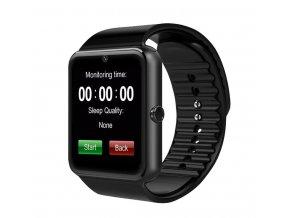 smart hodinky gt08 čierne