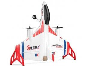 X520 VTOL s profi LCD vysielačom VERTICAL FLIGHT