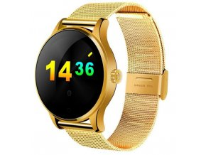 smart hodinky K88H zlaté