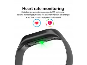 fitness tracker smart watch band m2s with blood pressure monitor heart tate monitor pedometer distance calories sms calling reminder ip67 waterproof smart wristband bracelet suita