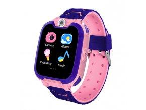 Detské smart hodinky G2 ružové