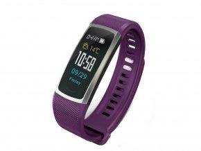 fitness náramky T8 fialové