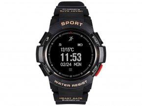 športové hodinky F6 čierne