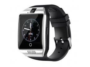 Watchking smart Q18s strieborné