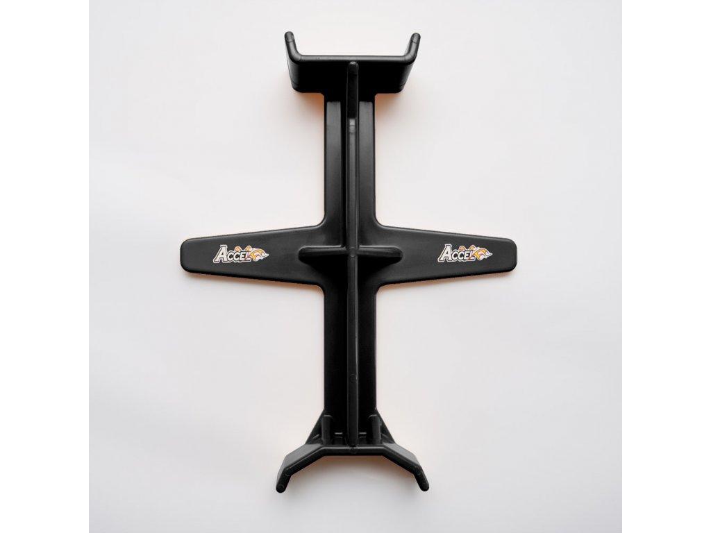 Zarážecí kříž na tlumiče pro transport motocyklu ACCEL