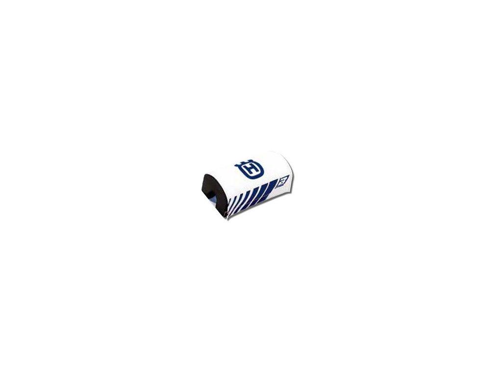 Protectie burete ghidon 28mm Logo Husqvarna Blackbird alb albastru E5043R 00