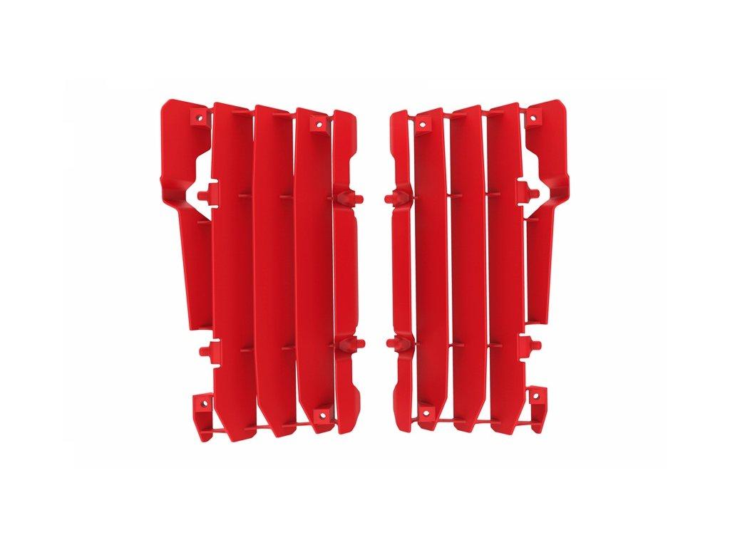 Mřížky chladičů POLISPORT BETA červené
