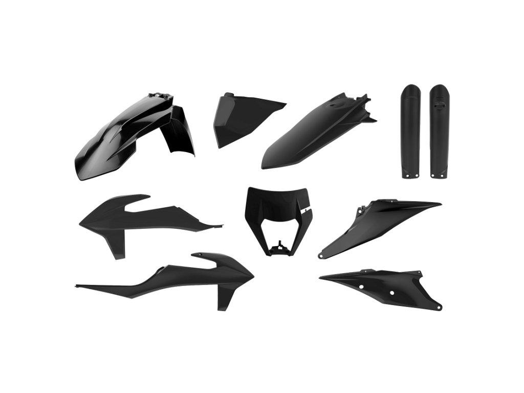 Sada plastů Polisport KTM černá