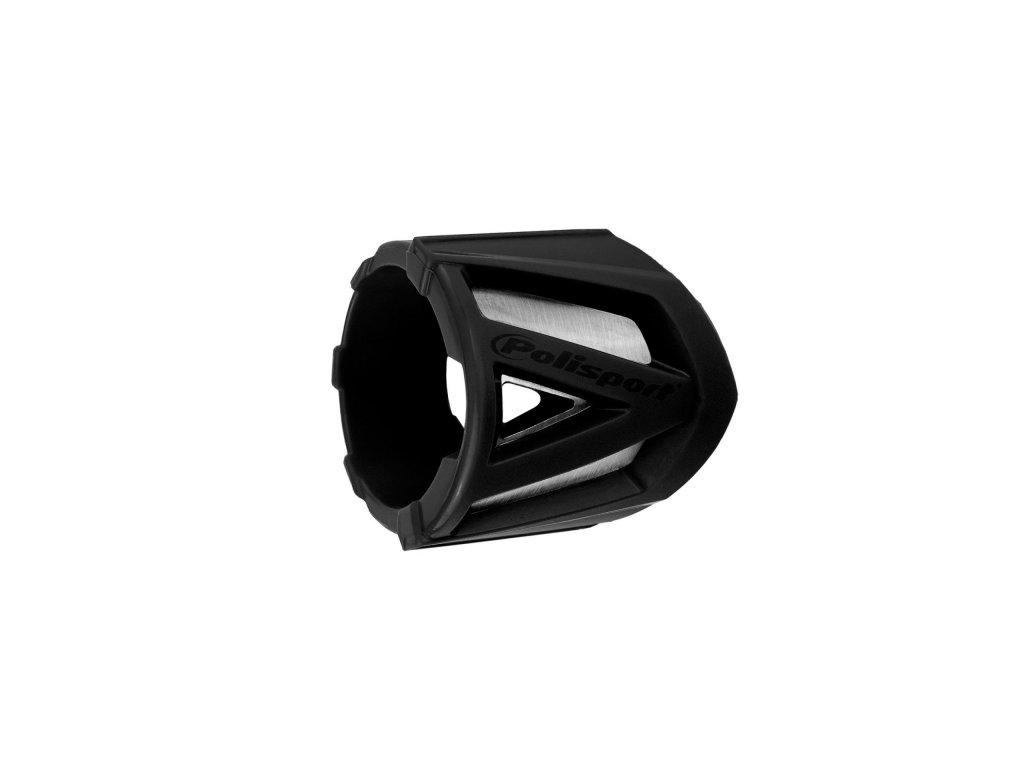 Kryt koncovky výfuku 30-40cm Polisport univerzální černý