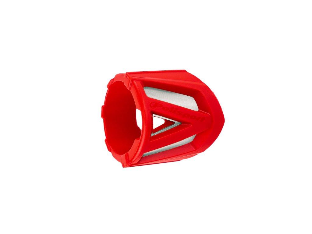 Kryt koncovky výfuku 30-40cm Polisport univerzální červený