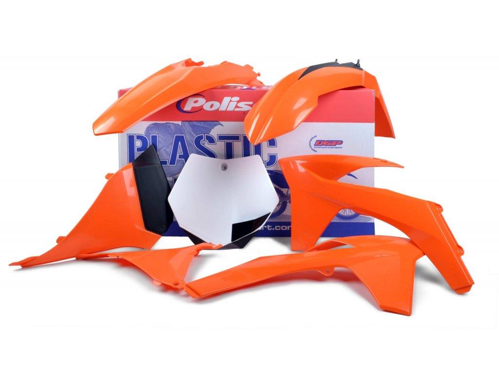 Sada plastů Polisport KTM OEM barva