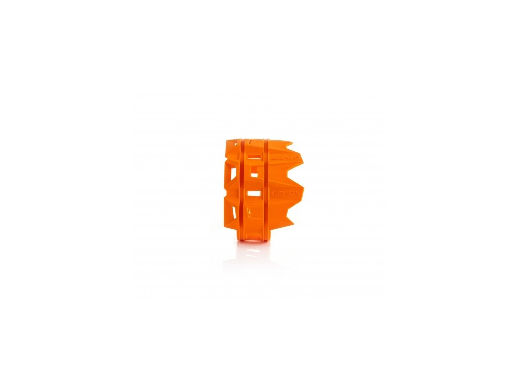 Gumový chránič výfuku ACERBIS oranžový 4t