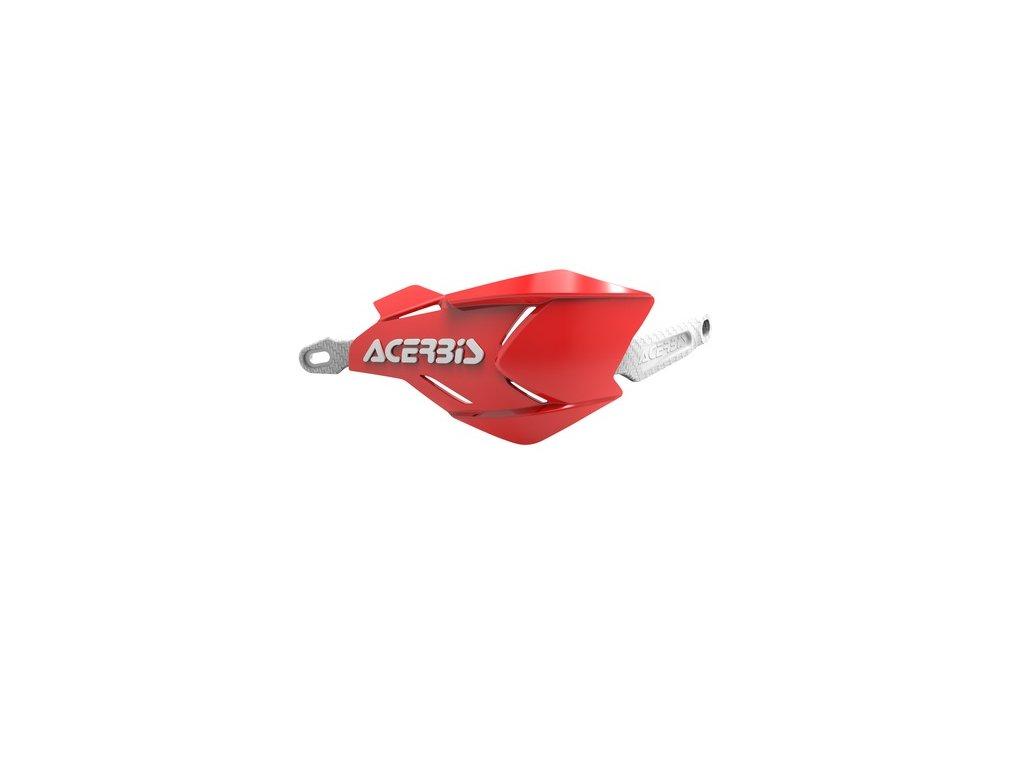 Chrániče páček X-FACTORY ACERBIS, červená/bílá