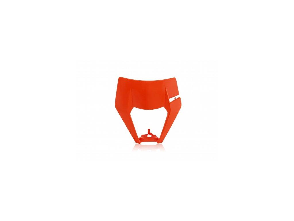 Maska Acerbis KTM oranžová