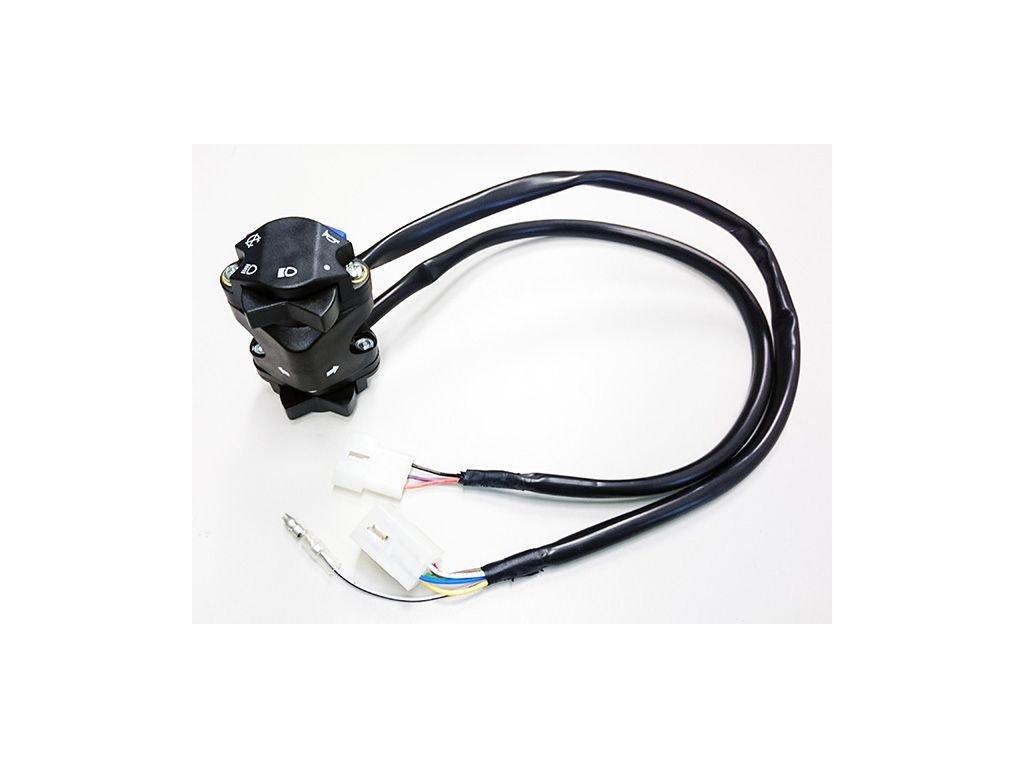 Přepínač blinkrů/světel/houkačka/vypínač/ KTM/Husqvarna/Husaberg replika