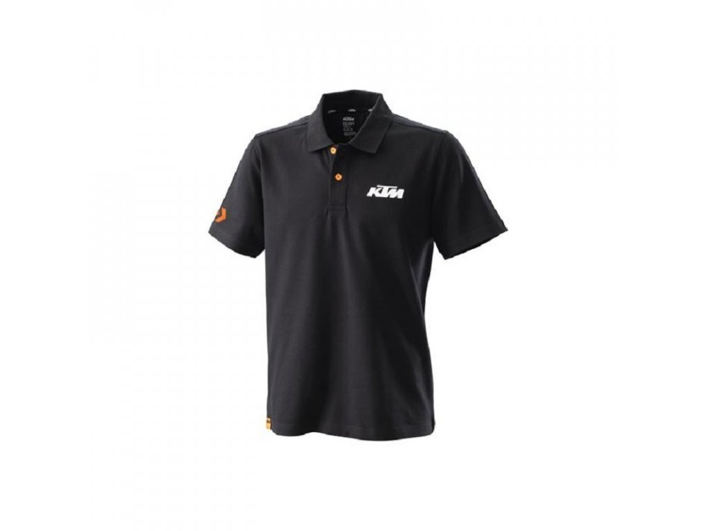 ktm racing polo black 3pw20002890