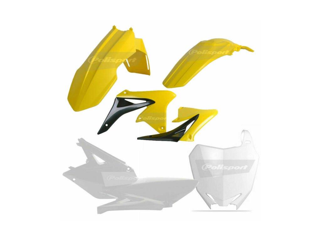 Sada plastů Polisport Suzuki RMZ250 barva OEM