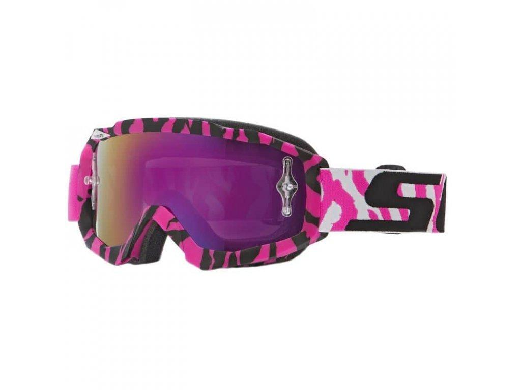 Brýle SCOTT HUSTLE MX pink/purple