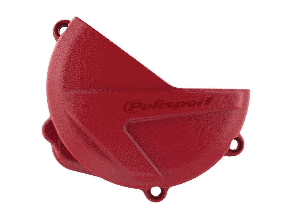 Kryt víka spojky Polisport Honda, červený