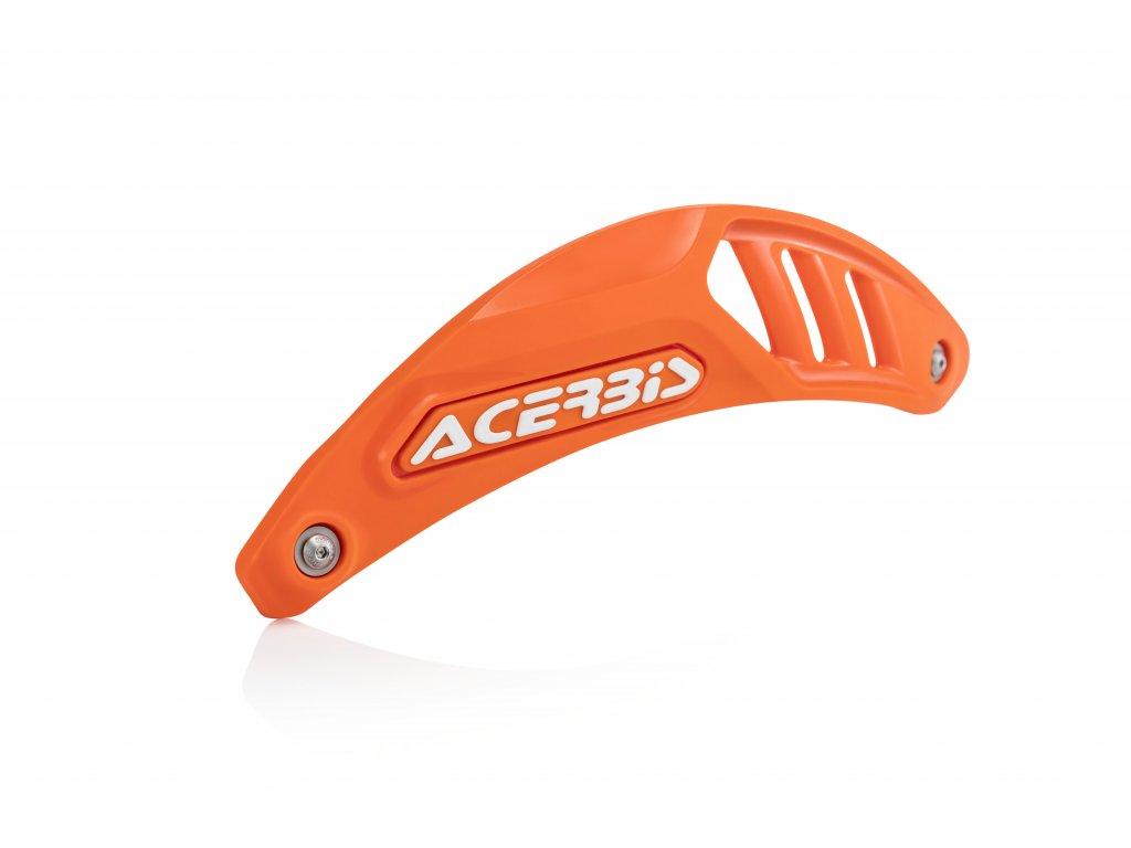 Kryt svodu výfuku ACERBIS 4T oranžový