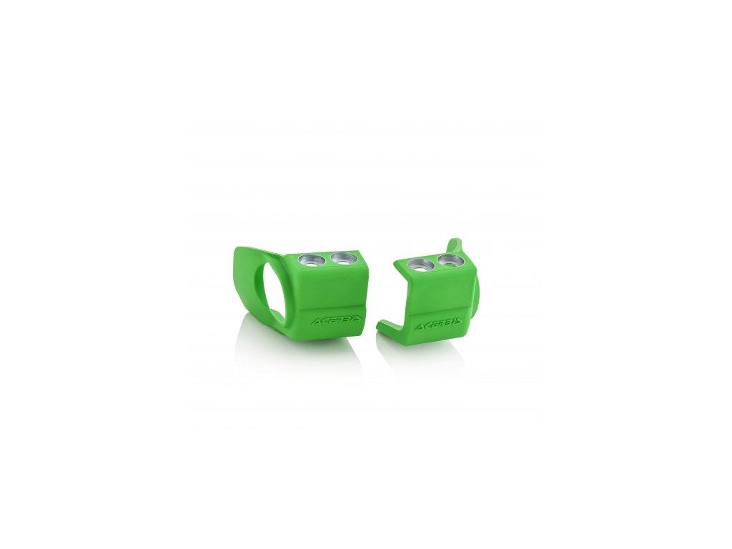 Chrániče spodků vidlic ACERBIS, Kawasaki zelené