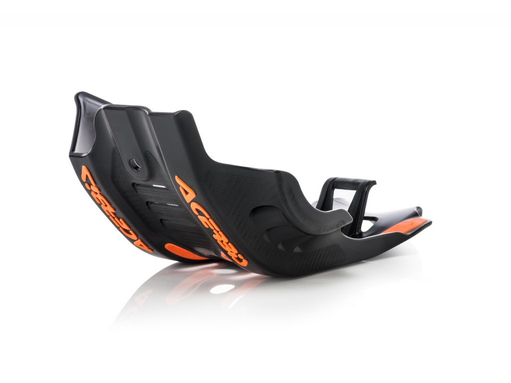 Kryt motoru a přepákování ACERBIS KTM, černo-oranžový