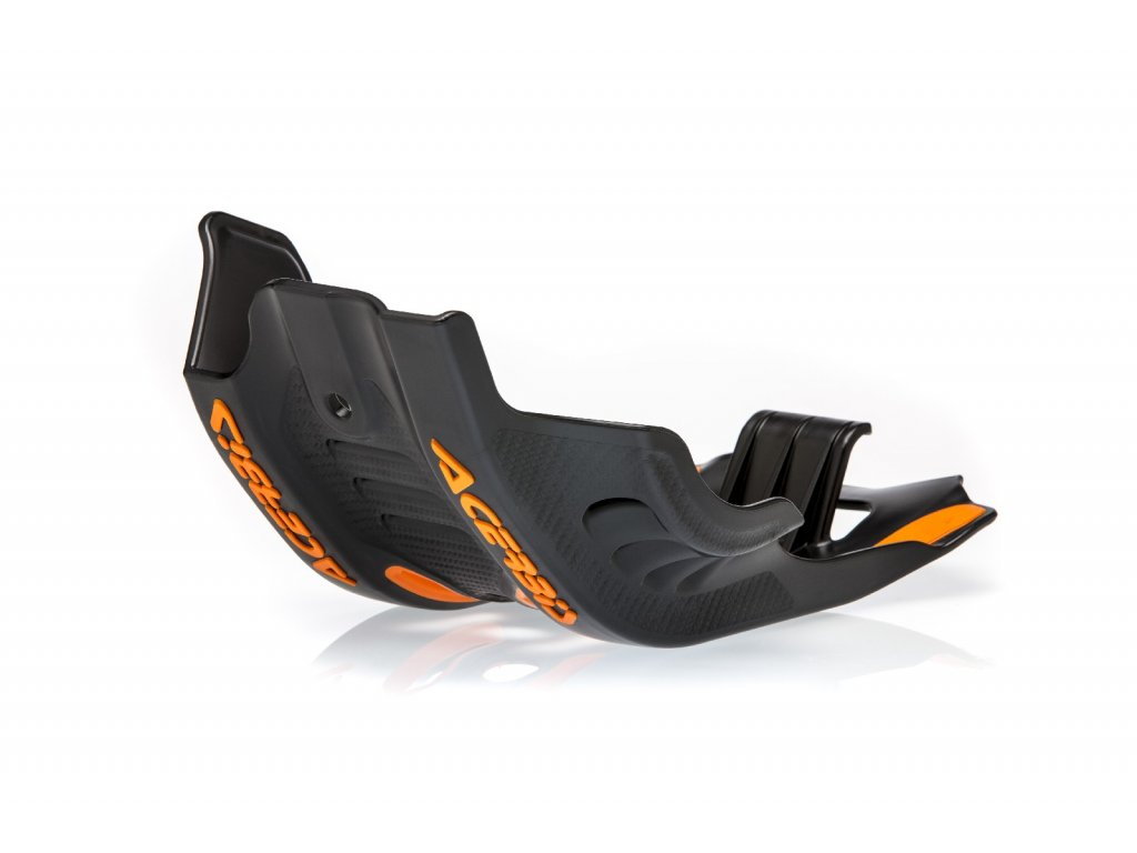 Kryt motoru a přepákování KTM ACERBIS černo-oranžový