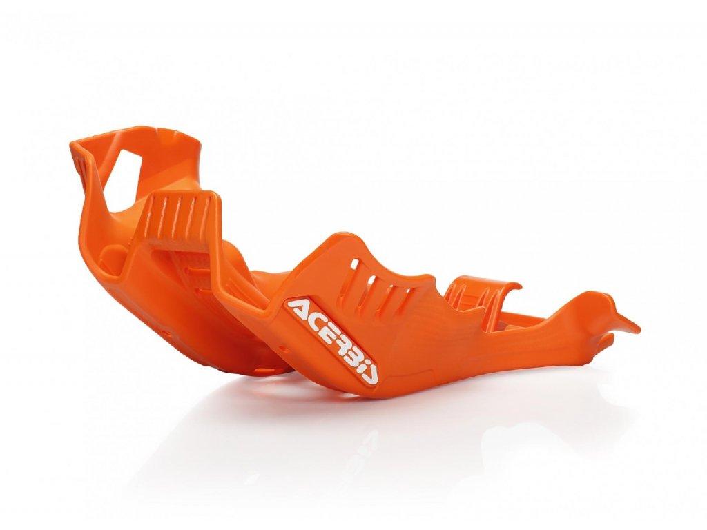 Kryt motoru a přepákování KTM ACERBIS oranžový