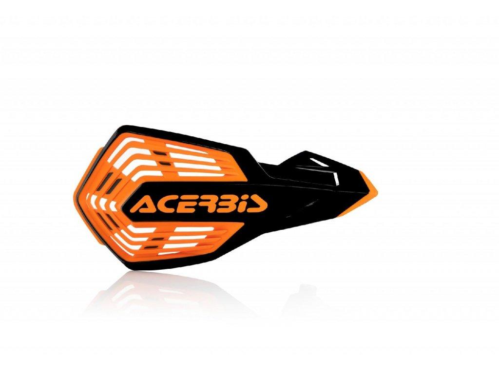 Kryty páček Acerbis X-FUTURE VENTED oranžovo-černé